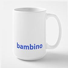 BAMBINO BABY BLUE Large Mug