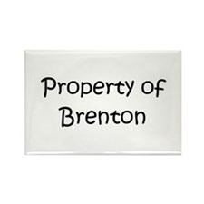 Unique Brenton Rectangle Magnet (100 pack)