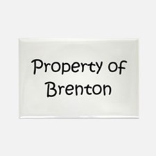 Cool Brenton Rectangle Magnet