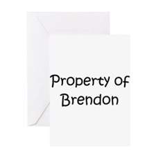 Funny Brendon Greeting Card