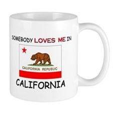 Somebody Loves Me In CALIFORNIA Mug