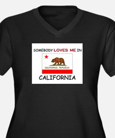 Somebody Loves Me In CALIFORNIA Women's Plus Size