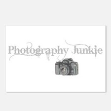 Photography Junkie Postcards (Package of 8)