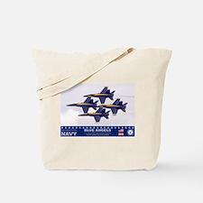Blue Angel's F-18 Hornet Tote Bag