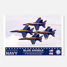 Blue Angel's F-18 Hornet Postcards (Package of 8)