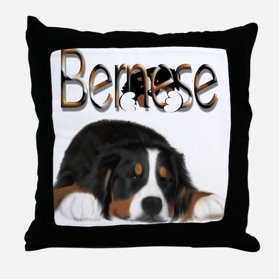 Sneak A Peek Throw Pillow
