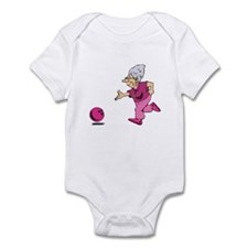 Bowling granny Infant Bodysuit