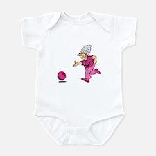 Bowling granny Infant Bodysuit