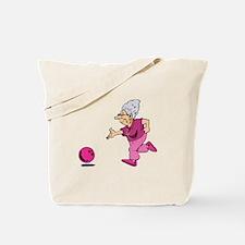 Bowling granny Tote Bag