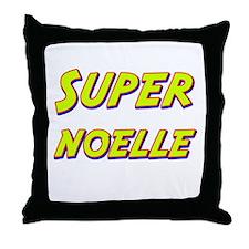 Super noelle Throw Pillow