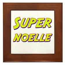 Super noelle Framed Tile