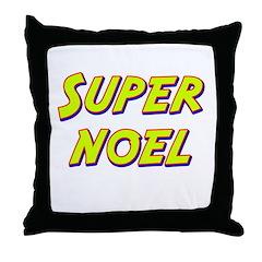 Super noel Throw Pillow