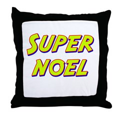 Super noel Throw Pillow