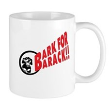 Bark for Barack Obama Mug
