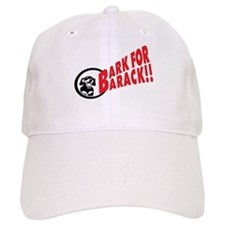 Bark for Barack Obama Baseball Cap