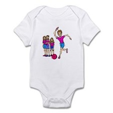Women's bowling Team Infant Bodysuit