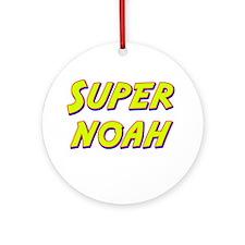 Super noah Ornament (Round)