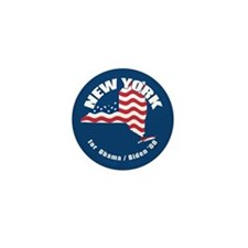 New York for Obama Mini Button