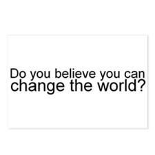 Change the World Postcards (Package of 8)