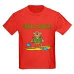 Surfer Monkey Kids Dark T-Shirt