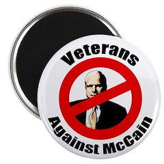 Veterans Against McCain Magnet