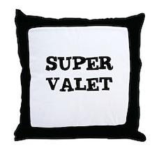 SUPER VALET Throw Pillow