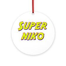 Super niko Ornament (Round)