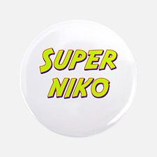 """Super niko 3.5"""" Button"""