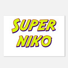 Super niko Postcards (Package of 8)