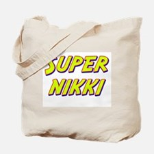 Super nikki Tote Bag