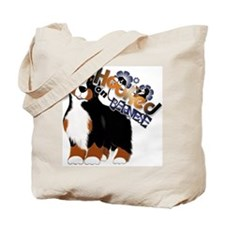 Hooked On Bernese Tote Bag
