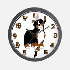 Hooked On Bernese Wall Clock