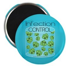 "Infection Control 2.25"" Magnet (10 pack)"