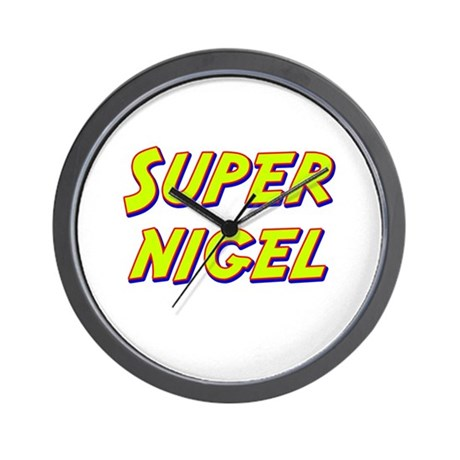 Super nigel Wall Clock