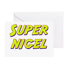 Super nigel Greeting Card