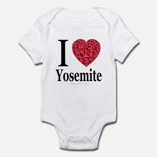 I Love Yosemite Infant Creeper