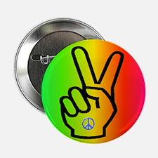 Anti-War Peace Symbol Button