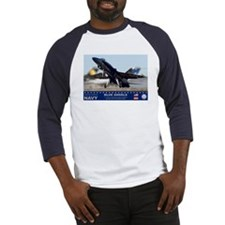 Blue Angel's F-18 Hornet Baseball Jersey