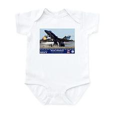 Blue Angel's F-18 Hornet Infant Bodysuit