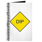 Yellow DIP sign - Journal