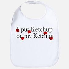 Ketchup on Ketchup Bib