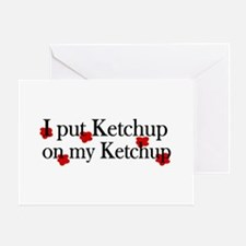 Ketchup on Ketchup Greeting Card