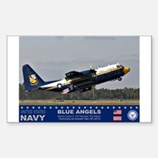 Blue Angel's C-103 Hercules Rectangle Decal