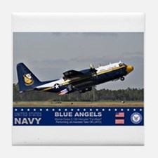 Blue Angel's C-103 Hercules Tile Coaster