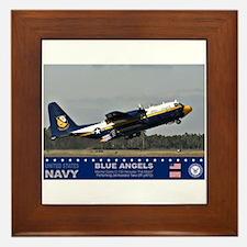 Blue Angel's C-103 Hercules Framed Tile