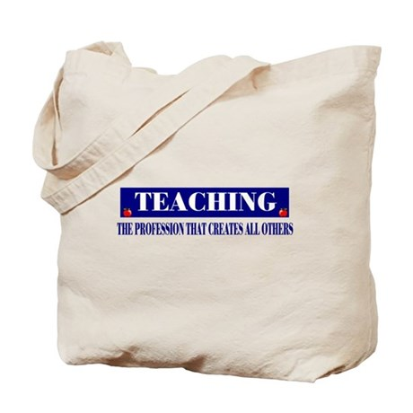 Teachers Canvas Tote Bag