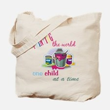 Painting The World... Tote Bag