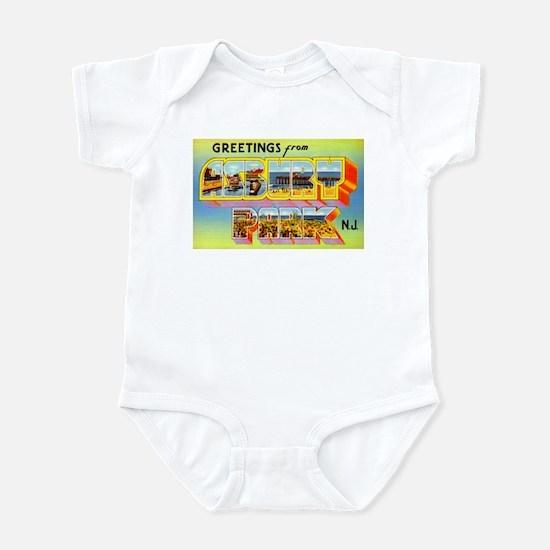 Asbury Park New Jersey Infant Bodysuit