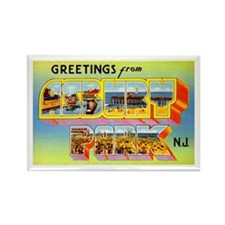 Asbury Park New Jersey Rectangle Magnet (10 pack)