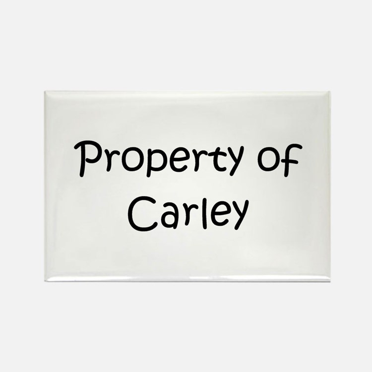 Cute Carley Rectangle Magnet